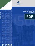 ECB MONTHLY BULLETIN -- 9-DEC-2010