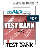 Holes Human Anatomy Physiology 15th Shier Test Bank