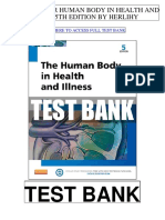 Human Body Health Illness 5th Herlihy Test Bank