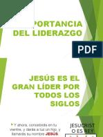 IMPORTANCIO DEL LIDERAZGO