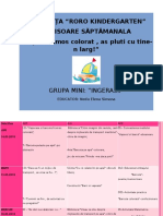 SCRISOAREA SAPTAMANALA 14 - 18.05.2018