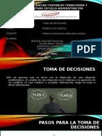 TOMA DE DECISIONES- DINAMICA DE GRUPOS-1