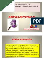 Aditivos alimentarios 2016 ppt