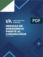 Medidas Por Coronavirus - 2020.03.18