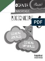 Guia Docente - Biociencias
