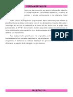 Fundamentación y Planificacion de Diagnostico