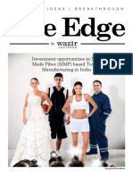 The Edge-MMF textile investment in India