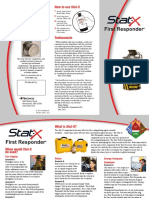 19052 Stat-X First Responder Brochure
