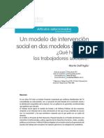 dellaglio-Un modelo de intervención