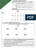 1 - Adicion y Sustraccion en Z (Formato Carta)