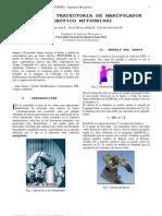 Control de trayectoria de manipulador robótico de 4 GDL