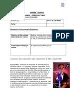 Guía N°1Ecosistema Experimento Urey