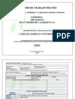 ATS. instalación de tubería y cableado estructurAado