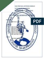 GESTION DE RESIDUOS SOLIDOS-2018
