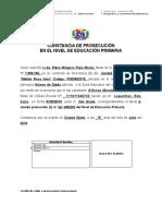 CONSTANCIA DE PROSECUCIÓN ENTRE GRADOS DEL NIVEL DE EDUCACIÓN PRIMARIA (2)