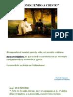 LECCIÓN 1 CONOCIENDO A CRISTO.pptx [Autoguardado].pptx