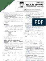 SDLS 2008 Biochemistry Laboratory - Carbohydrates