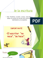 Fases de la escritura PPT1