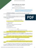 DECRETO Nº 9.406, DE 12 DE JUNHO DE 2018 (Regulamenta Decreto de mineração e outros)