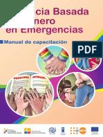 Manual Violencia Basada  en Género en Emergencias Vbg