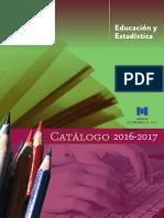 Cat_Educacion y Estadistica_2016.pdf
