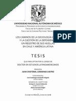 Los caminos de la sociología crítica y la cuestión de la dependencia, un registro de sus huellas en Chile y América Latina