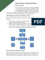 Adquisición Hardware y Software, Plan de Contingencia y Estudio de Factibilidad