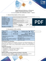 Activities guide and evaluation rubric - Task 2 - Electromagnetic waves in bounded open media