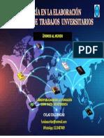 TRABAJOS UNIVERSITARIOS