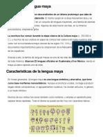 Historia de la lengua maya.docx