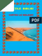 Cărți Din Biblie - Cartea lui Maleahi 39