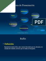 Buffet y Decoraciones original