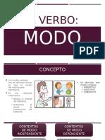 EL VERBO MODO
