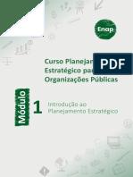 Módulo 1 - Introdução ao Planejamento Estratégico