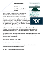 Floodland chapter summaries 12 +