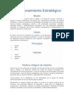 Direccionamiento Estratégico DFGHC