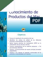 Conocimiento de productos del mar (PPTminimizer)