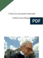 PRESENTACIÓN GARCÍA MÁRQUEZ