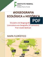2 BIOGEOGRAFIA ECOLOGICA HISTORICA