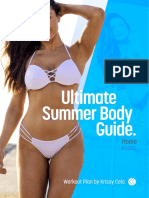 Krissy Cela - Ultimate Summer Body Guide (Home - NEW)