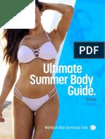 Krissy Cela - Ultimate Summer Body Guide (Home - NEW)