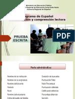 PRUEBA ESCRITA ESPAÑOL.pptx