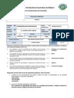 EXAMEN unidad 1 DIAGNOSTICO ADMINISTRACION ESTRATEGICA