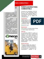 Brochure SOLTRAK - Purificador MEGA FC