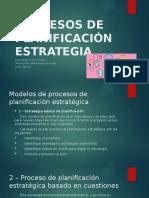 Planeacion de estrategias