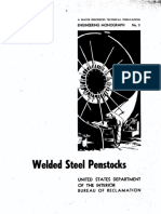 Welded Steel Penstocks