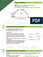 fisica clase 7 parcial 2  cinematica de la particula tiro parabolico