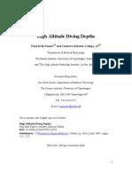 High Altitude Diving Depths Preprint