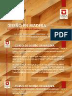 Ejemplo diseño en madera norma chilena