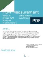Mekanika Fluida - Flow Measurement kelompok 8.pptx